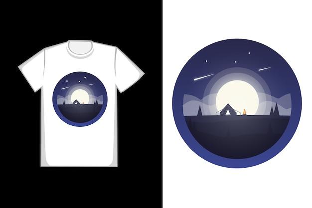 T-shirt luna piena