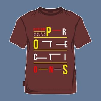 Design di immagini modello t shirt
