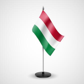 Bandiera da tavolo dell'ungheria
