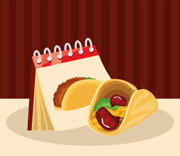 Promemoria calendario taco