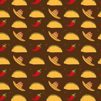 Tacos cibo messicano