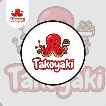 Logo del cibo takoyaki