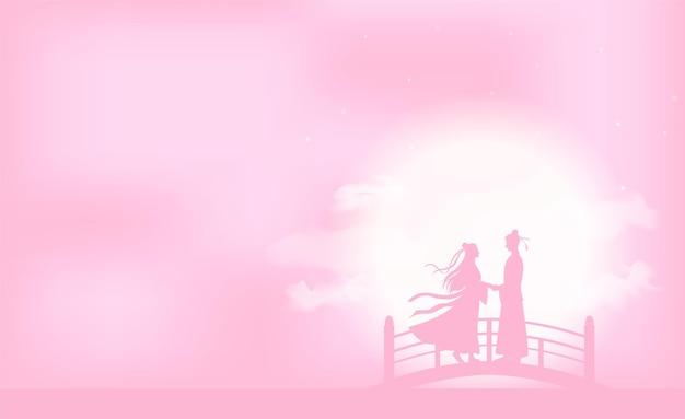 Sfondo del festival tanabata o star