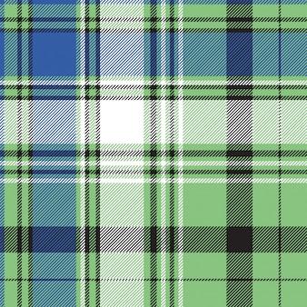 Plaid scozzese in tessuto senza cuciture