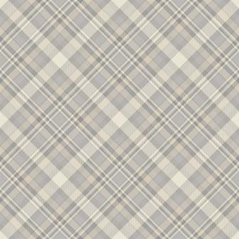 Fantasia scozzese scozzese senza cuciture. tessuto di fondo retrò. struttura geometrica quadrata di colore di controllo dell'annata. Vettore Premium