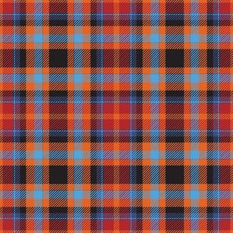 Tartan scozia scozzese seamless pattern vettoriale. tessuto di fondo retrò. struttura geometrica quadrata di colore vintage check per stampa tessile, carta da imballaggio, carta regalo, carta da parati design piatto.