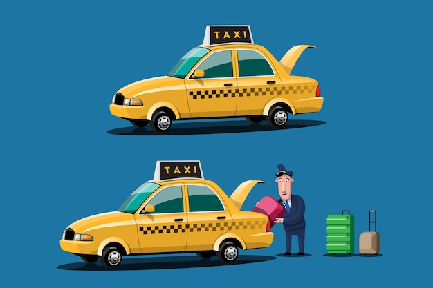 Servizio taxi auto