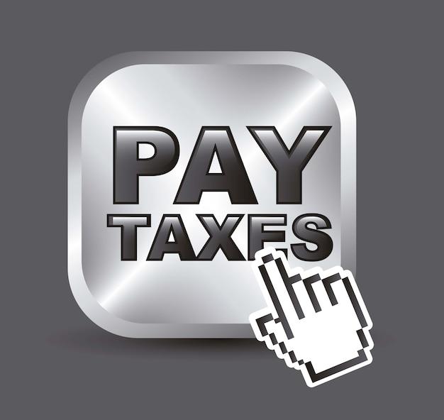 Icona di taxi su sfondo grigio illustrazione vettoriale