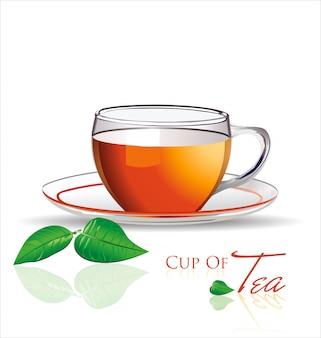 Sfondo di tè