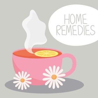 Design dei rimedi casalinghi del tè