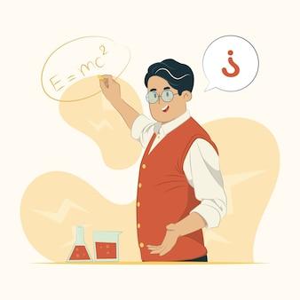 Illustrazione di concetto di insegnante
