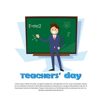 Consiglio di classe di teacher day holiday man school