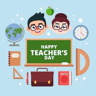 Gli insegnanti celebrano la felice giornata dei cercatori