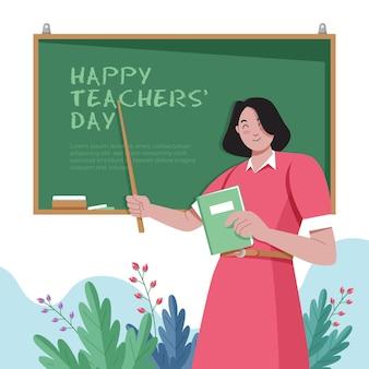 Illustrazione del giorno degli insegnanti