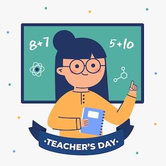 Illustrazione di giorno degli insegnanti