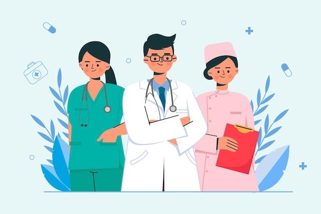 Il team di medici
