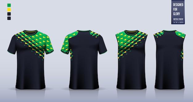 Disegno del modello del tessuto del teamwear modello astratto