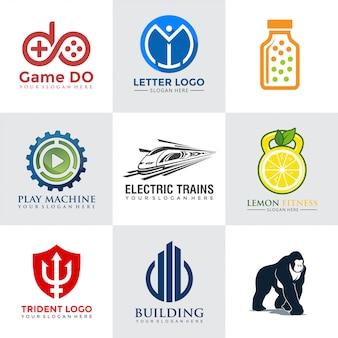 Collezioni tech logo design