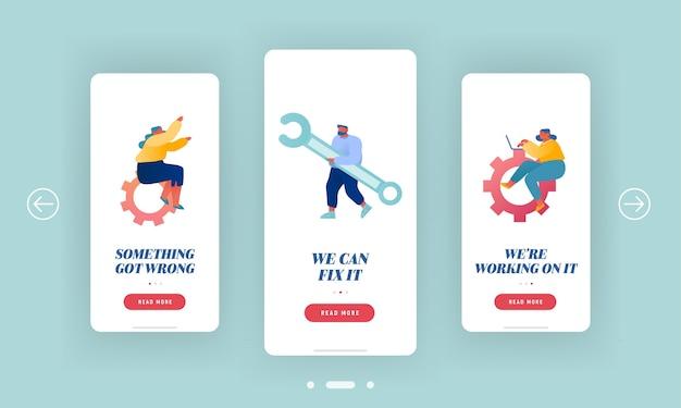 I clienti tecnici supportano la pagina delle app per dispositivi mobili