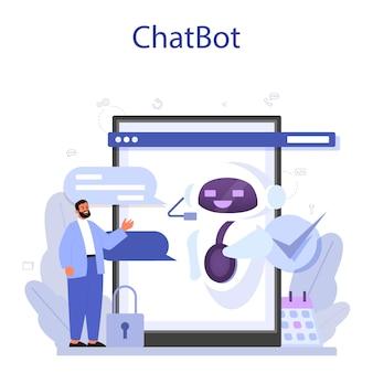 Piattaforma o servizio online di supporto tecnico.