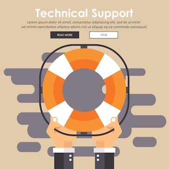 Icona di struttura del supporto tecnico