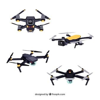 Pacchetto tecnologico di moderni droni
