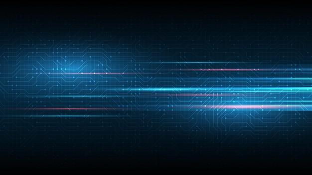 Circuito del fondo di tecnologia illustrazione di vettore del fondo dell'estratto dell'innovazione di concetto di comunicazione hi-tech