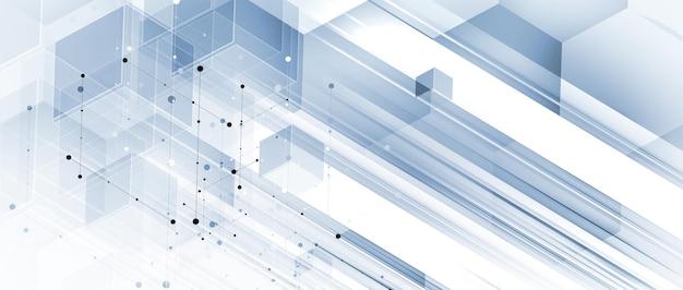 Idea di sfondo dei dati tecnologici di una soluzione aziendale globale