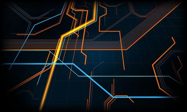 Tecnologia tecnologia moderna concetto geometrico. trama di sfondo astratto