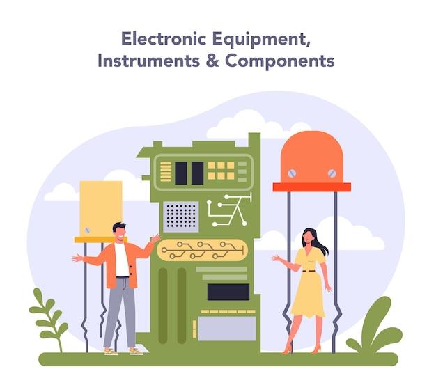 Tecnologia hardware e apparecchiature industria elettrica e dei semiconduttori