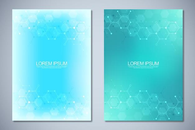 Modello di brochure o copertina