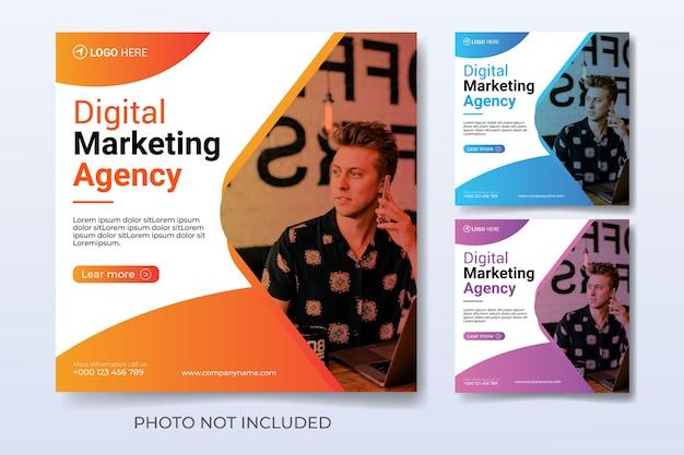 Modello di marketing digitale per i social media