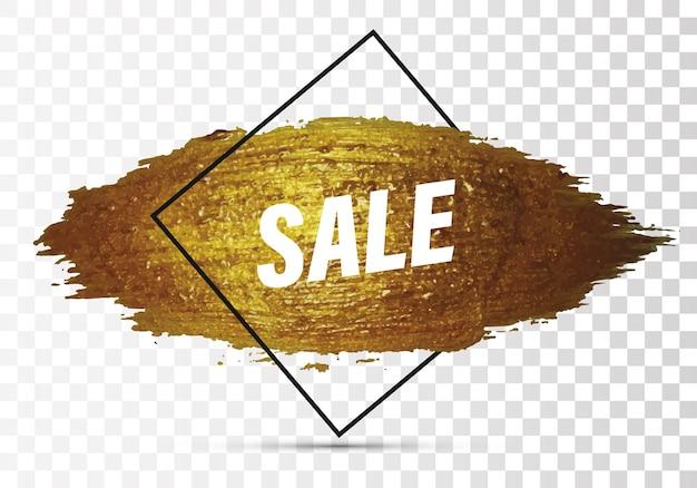 Modello per lo shopping coupon sconto brochure vendita banner volantino poster vendita layout sfondo per promozione aziendale e pubblicità banner promozionale con effetto pennellata viola