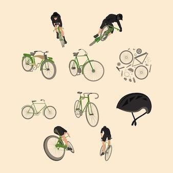 Dieci icone dello sport in bicicletta
