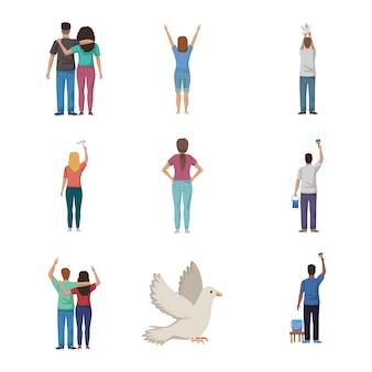 Dieci personaggi pacifisti