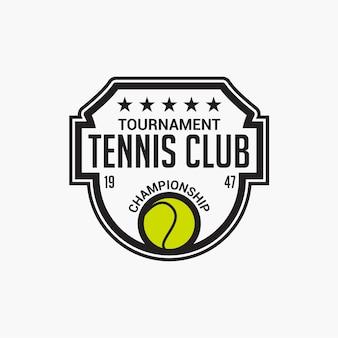 Distintivo del tennis club