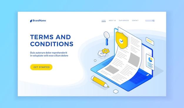 Termini e condizioni sito web