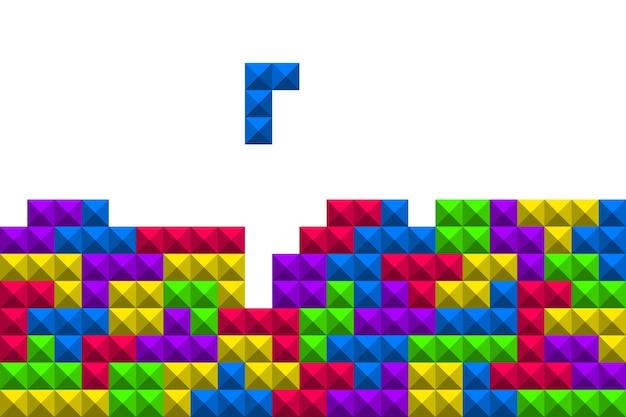 Illustrazione del gioco di tetris