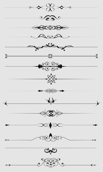Set di divisori di testo