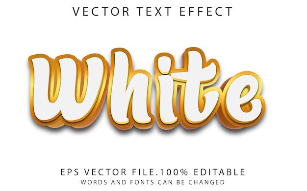 Effetti di testo bianco