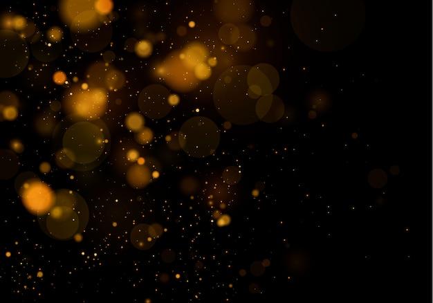 Texture di sfondo astratto bianco e nero o argento glitter ed elegante per il natale. bianco polvere. scintillanti particelle di polvere magica. concetto magico. sfondo astratto con effetto bokeh