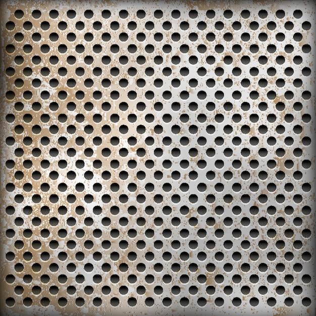 Texture di sfondo di metallo arrugginito