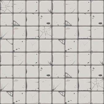 Struttura delle mattonelle di pietra, parete di pietra del fondo senza cuciture.