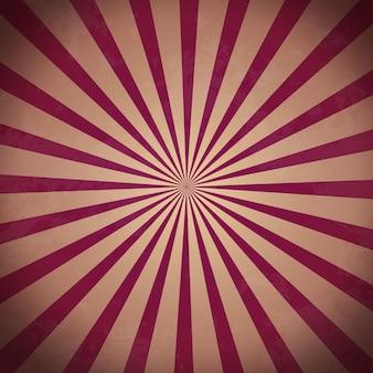 Bandiera del raggio di sole testurizzata