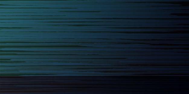 Illustrazione di vettore del fondo blu orizzontale astratto del bordo vuoto scuro strutturato di legno