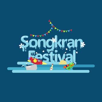 Festival della tailandia songkran