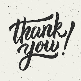 Grazie! frase scritta disegnata a mano su fondo bianco. illustrazione