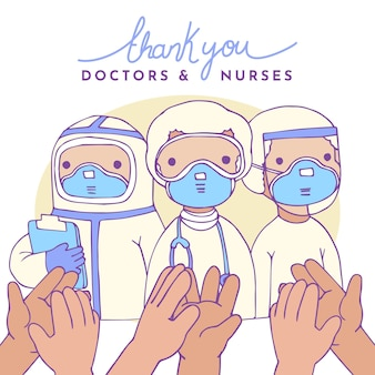 Grazie agli operatori sanitari