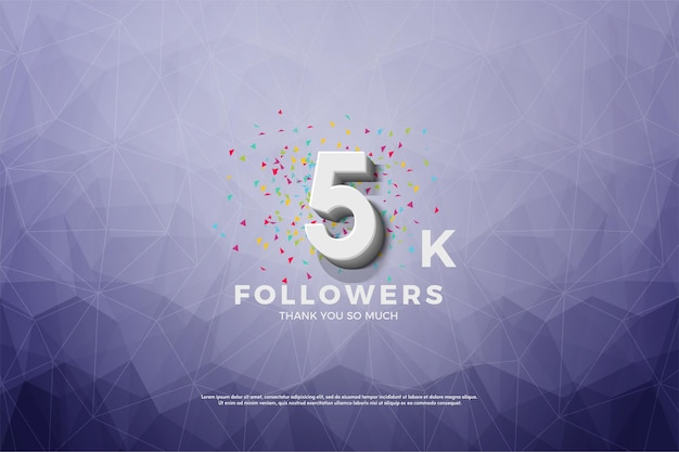 Grazie mille follower 5k.
