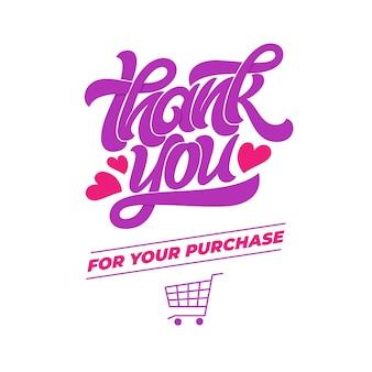 Grazie per il vostro acquisto.